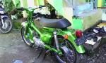 Honda C70 Hijau Mitalic..